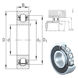 12 mm x 32 mm x 10 mm  INA BXRE201-2RSR needle roller bearings