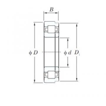 75 mm x 160 mm x 37 mm  KOYO NUP315 cylindrical roller bearings